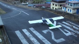 File:Lukla Airport Nepal Take-off and Landing in HD.ogv