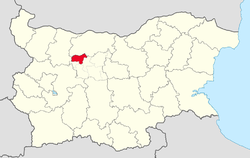 Lukovit Municipality within Bulgaria and Lovech Province.