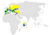 Lullula arborea distribution map.png