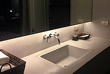 Genial A Sink/basin In A Bathroom