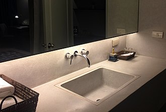 Sink - A sink/basin in a bathroom
