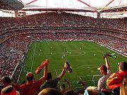 Luz-Stadion während des EM-Finales