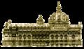 Lwów opera projekt elewacji bocznej 1896.png