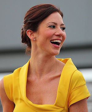 Lynn Collins - Collins at the X-Men Origins: Wolverine premiere, April 2009