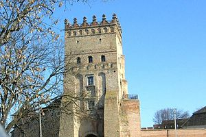 Lutsk - Castle gate