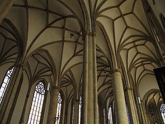 Hall church - Image: Münster Lambertikirche Decke