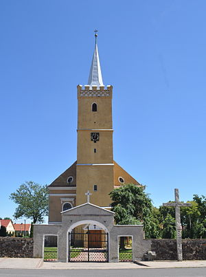 Męcinka - Church in Męcinka