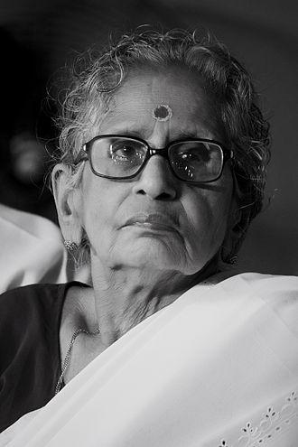 Kerala Sahitya Akademi Award for Literary Criticism - Image: M. Leelavathy DS