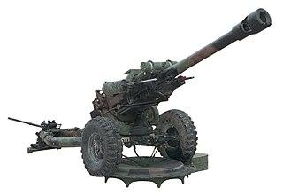 M119 howitzer 105 mm howitzer of American origin