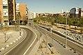 MADRID P.L.M. PUENTE DE SAN ISIDRO NUDO VIAL (COMENTADA) - panoramio.jpg