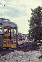 MBTA 3277 at Reservoir Carhouse in 1967.jpg