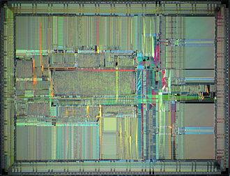 R4000 - MIPS R4000 die shot.