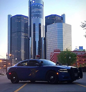 Michigan State Police - MSP Dodge Charger.