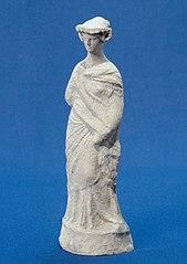 Femme debout drapée 25795