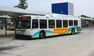 Route 21 (MTA Maryland) - Image: MTA MD 9053 21 Mondawmin