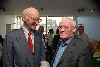 Tomás Mac Giolla - Seán Garland (right) with Tomás MacGiolla, May 2008