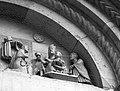 Maestro dei Mesi sogno e adorazione dei magi particolare abbazia di San Mercuriale 02.jpg