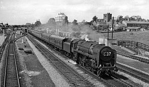 Magor, Monmouthshire - Magor Railway Station on the Great Western Railway in 1961