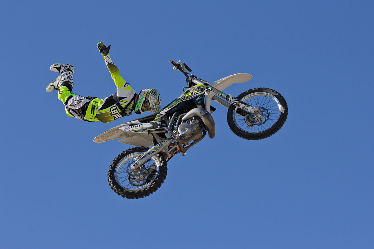 Freestyle motocross bikes
