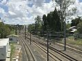 Main Railway Line, Queensland in Chelmer, Queensland towards the Walter Taylor Bridge.jpg