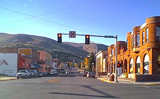 Anaconda, Montana - Main Street, Anaconda