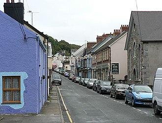 Goodwick - Image: Main Street, Goodwick geograph.org.uk 54550