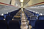Main cabin of BAC One-Eleven 510ED 'G-AVMO' (25913063348).jpg