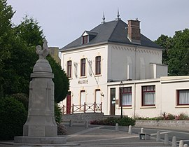 The town hall of Rinxent
