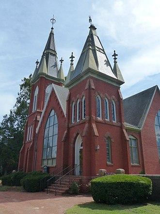 Francis Makemie - Makemie Memorial Presbyterian Church, Snow Hill, Maryland