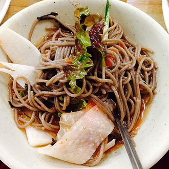 Korean noodles - Chuncheon Makguksu