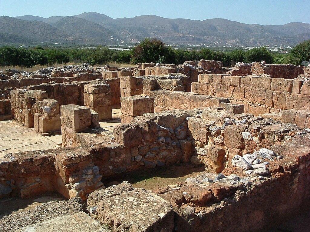 Минойский дворец в Маллии