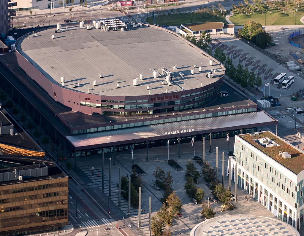 Malmö Arena–flygbild 06 september 2014