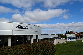 Malvern, Toronto - The Malvern branch of the Toronto Public Library was renovated in the early-2000s.