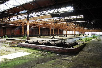 Manchester Mayfield railway station - Station interior