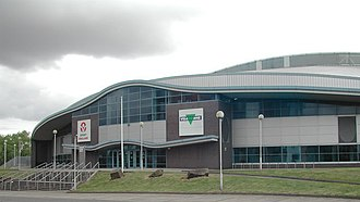 2002 Commonwealth Games - Manchester Velodrome hosted the track cycling programme