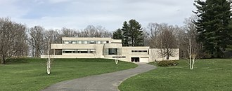 Edward Durell Stone - Richard H. Mandel house, Mt. Kisco, New York (1933)