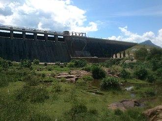 Manimuthar River (tributary of Thamirabarani) - Manimuthar dam