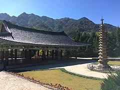 Manse Pavilion and Sokka Pagoda at Pohyonsa.jpg