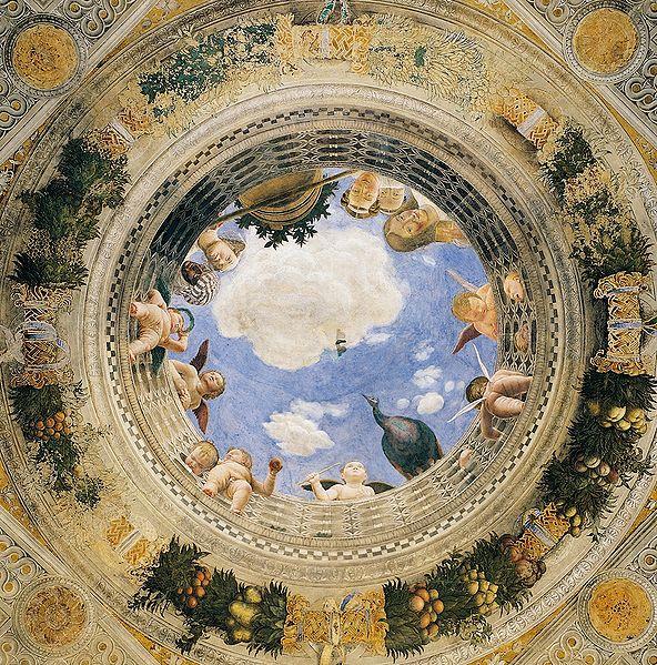 Andrea mantegna eserleri andrea mantegna tablolar for Mantova palazzo ducale camera degli sposi