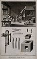 Manufacture of bits for horses with various tools of the tra Wellcome V0023636EL.jpg