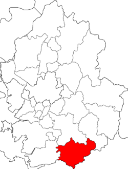 Location of Anseong