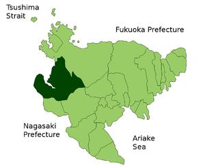 Map Imari en