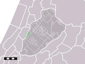 Beinsdorp - Image: Map NL Haarlemmermeer Beinsdorp