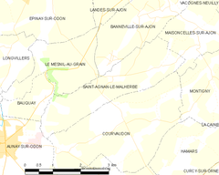 Map commune FR insee code 14553.png