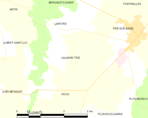 Map commune FR insee code 65250.png
