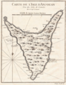 Map of Anjouan,Comoros (1748) Jacques Nicolas Bellin.png