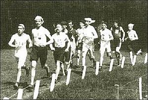 Athletics at the 1900 Summer Olympics – Men's marathon - Image: Marathon 1900