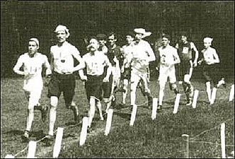 Athletics at the 1900 Summer Olympics – Men's marathon - The early stages of the race