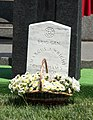 Marcus Wright grave with flowers - Confederate Memorial Day - Arlington National Cemetery - 2014.jpg