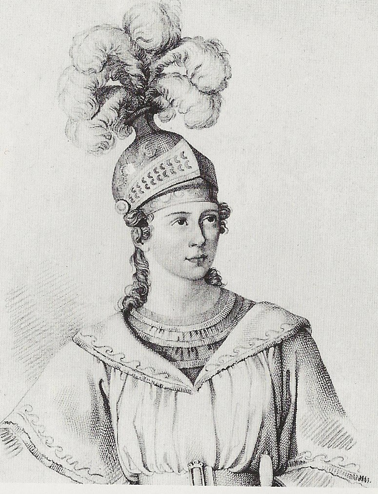 Maria Malibran as Bellini's Romeo-1832